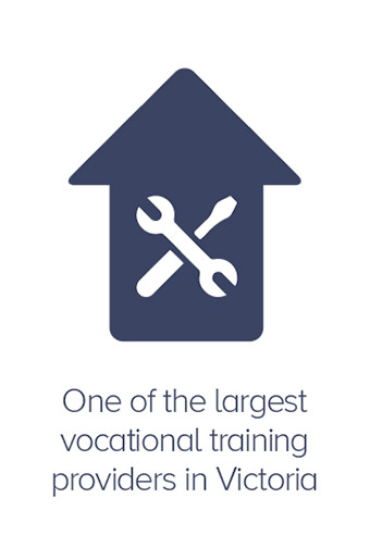 One of the largest vocational training providers in Victoria