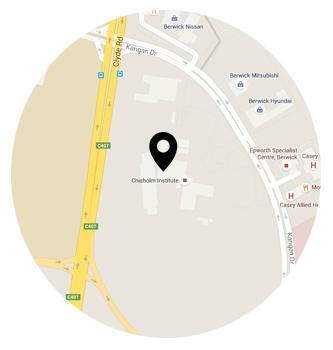 Cabrini College Campus Map.Berwick Chisholm Tafe